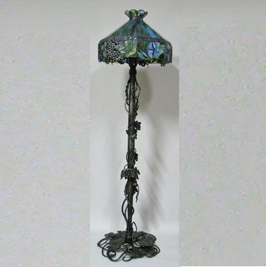 Custom Made Grape Theme Floor Lamp