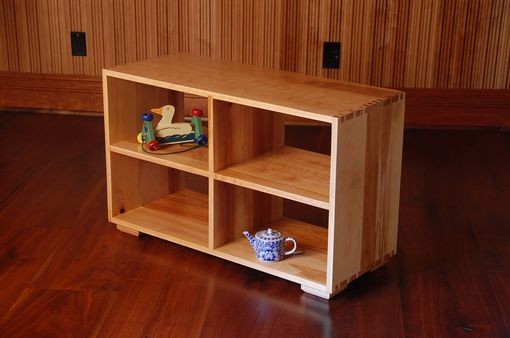 Custom Made Children's Montessori Shelf In Birch