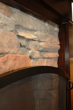 Custom Made Craftsman Fireplace Surround