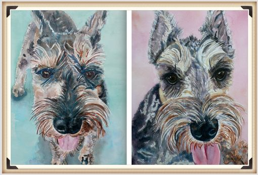 Custom Made Pet Portraits, Animal Portrait, People Portraits, Job And Occupation Poster, Illustration, Poster,