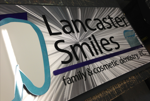 Custom Made Custom Dental Office Logo Sign