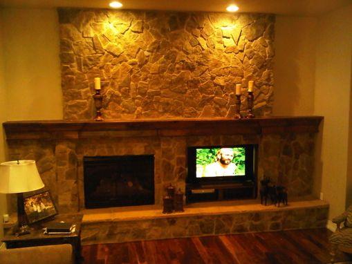 Custom Made Mantle And Stone Work