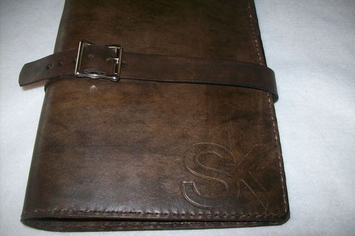 Custom Made Leather Executive Planner With Brand Logo