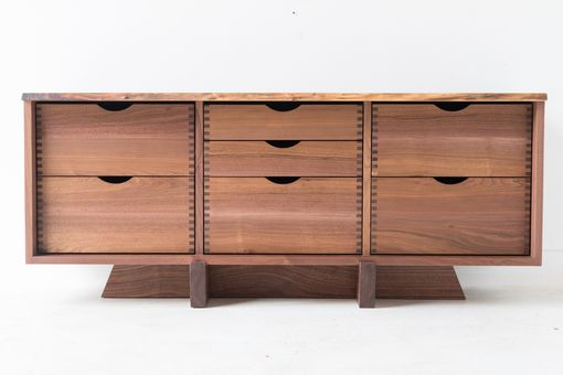 Custom Made Entertainment Cabinet With Concealed Drawers