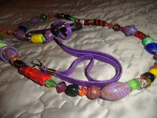 Custom Made Handmade Dog Leash W/Long Stretch Cord