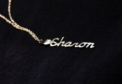 Custom Made Hand Script Necklace