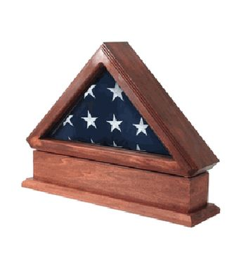 Custom Made Flag Display Case - Made In Usa