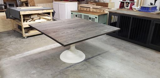 Custom Made Tuscany Pedestal Table