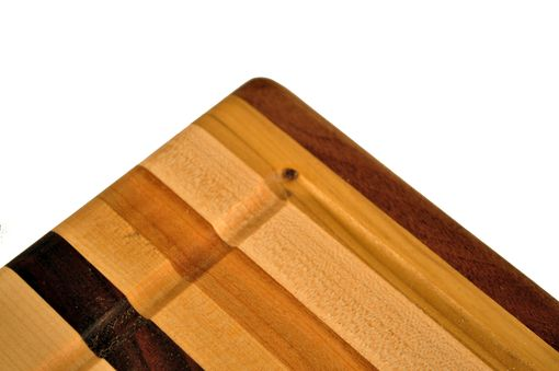 Custom Made Large Striped Cutting Boards