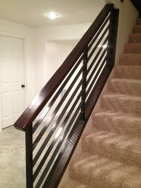 Custom Made Horizontal Slat Railing