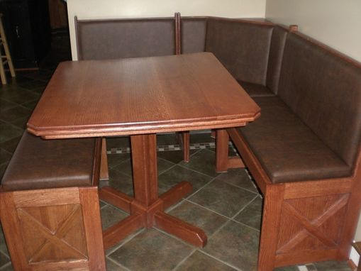 Custom Made Built-In Kitchen Table