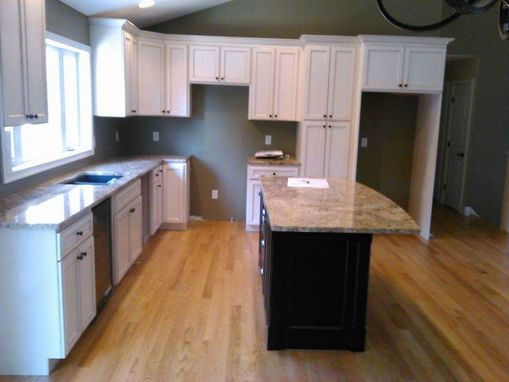Custom Made Handmade Kitchen Cabinets