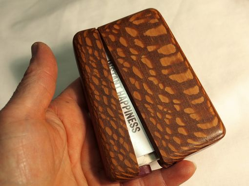 Custom Made Wallet And Business Card Holder