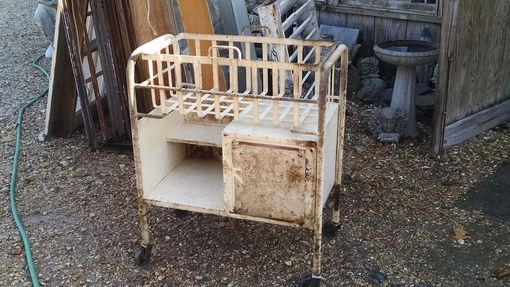 Custom Made Great Table Or Serving Cart Base Hospital/Industrial Look