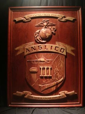 Custom Made Anglico The Third Marine Crest