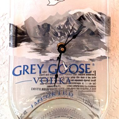 Custom Made Grey Goose Vodka Bottle Clock