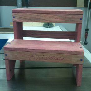 Custom Step Stools Handmade Wood Stepstools Custommade Com
