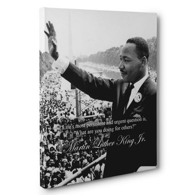Custom Made Martin Luther King Jr Motivation Quote Canvas Wall Art
