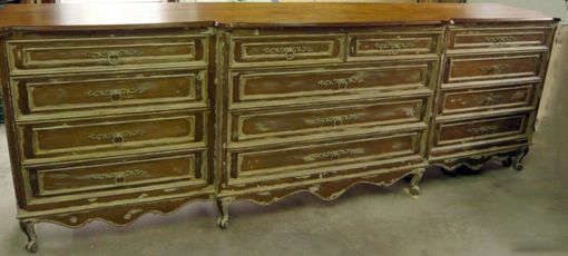 Custom Made French Provincial Style Dresser