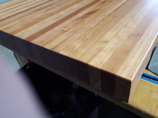 Custom Made Solid Cherry Cutting Board