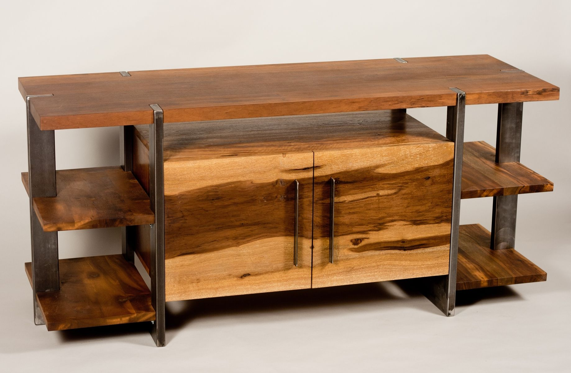 handmade entertainment center by trevor thurow custom furniture design. Black Bedroom Furniture Sets. Home Design Ideas