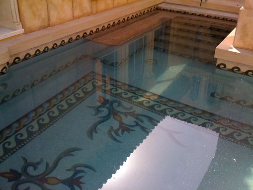 Custom Made Mosaic Inside Swimming Pools