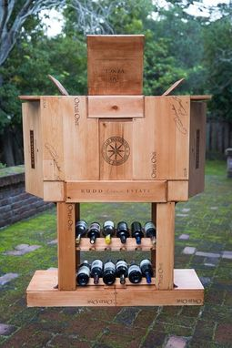 Custom Made Wine Box Bar
