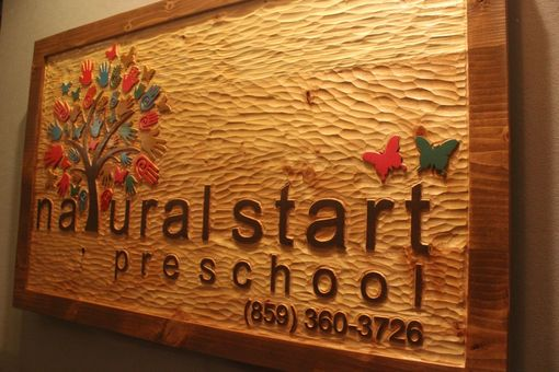 Custom Made School Signs | Community Signs | Park District Signs | Company Signs | Business Signs | Store Signs