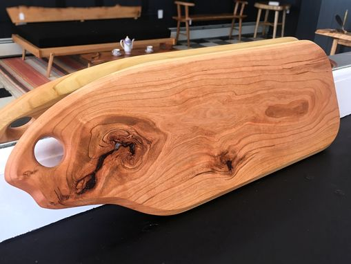 Custom Made Live Edge Cutting/Serving Boards