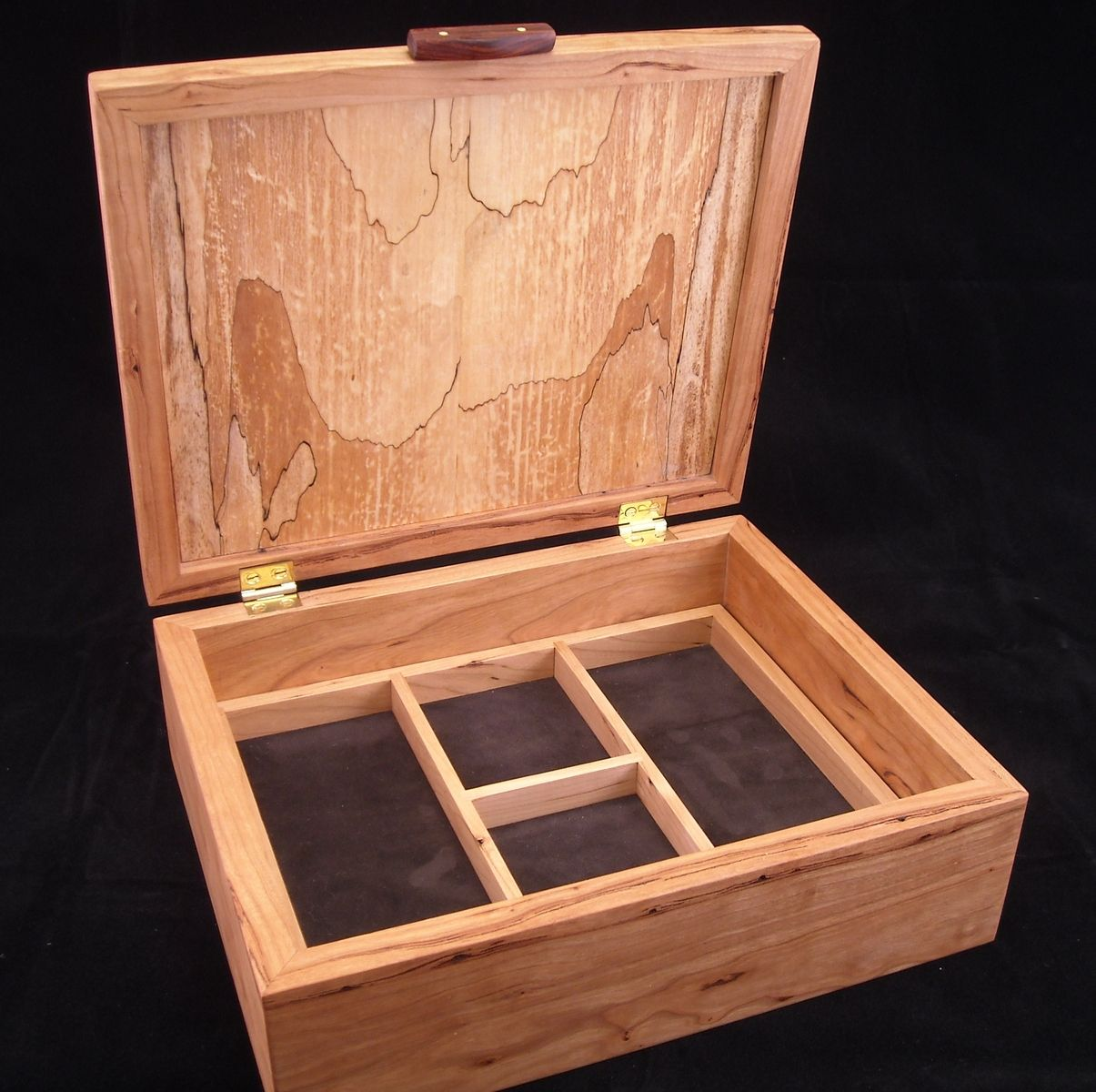 Hand made jewelry box by mitchell woodworks for Custom design online
