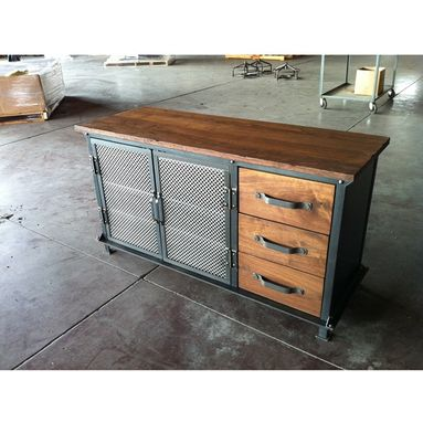 Custom Made Ellis Console With Drawers