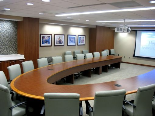 Custom Made Memorial Hospital Custom Conference Table