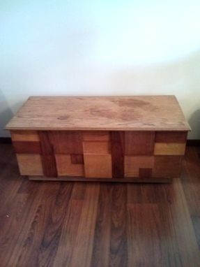 Custom Made Hardwood Hope Chest