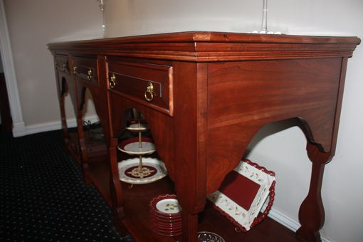 Custom Made Fiddle Leg Sideboard