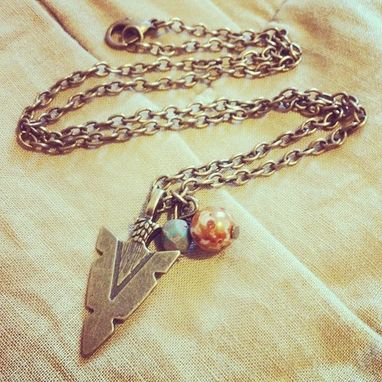 Custom Made Arrowhead Necklace