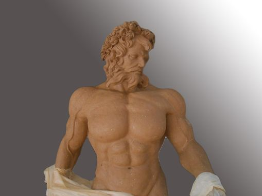 Custom Made Poseidon Marble Statue