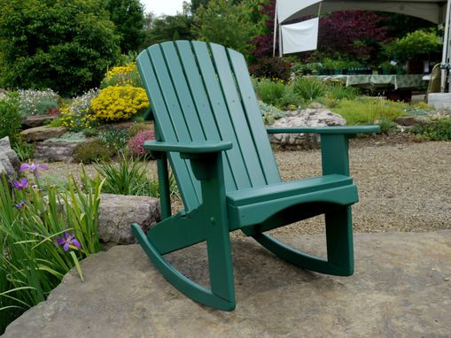 Custom Made Adirondack Rocker