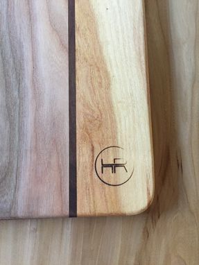 Custom Made Hardwood Cutting Board / Serving Board