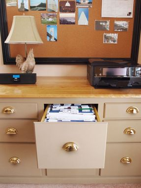 Custom Made Home Office Filing Cabinet