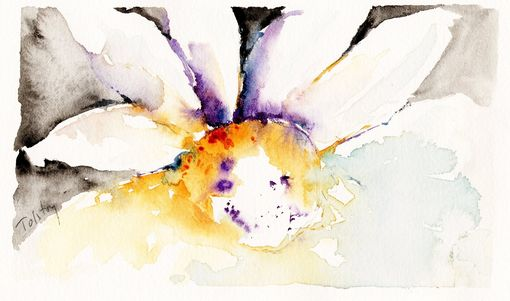 Custom Made Daisy, Watercolor