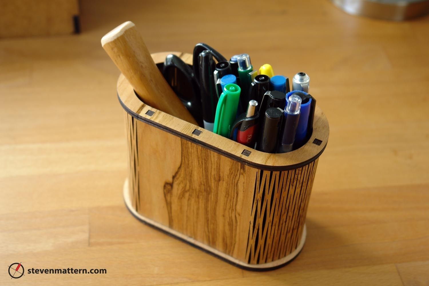Handmade Pencil Holder By Steven Mattern Design Build