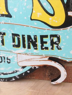 Custom Made Restaurant Sign