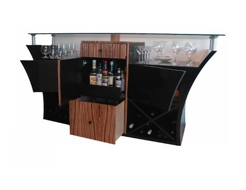 Custom Made Arcobaleno Bar Console