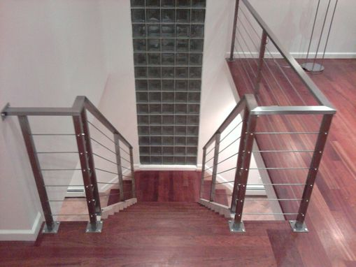 Custom Made stainless steel cable railing