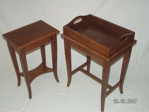 Custom Made Small Cherry Tables