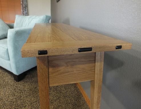 Custom Made Side Table - Green And Green Inspired