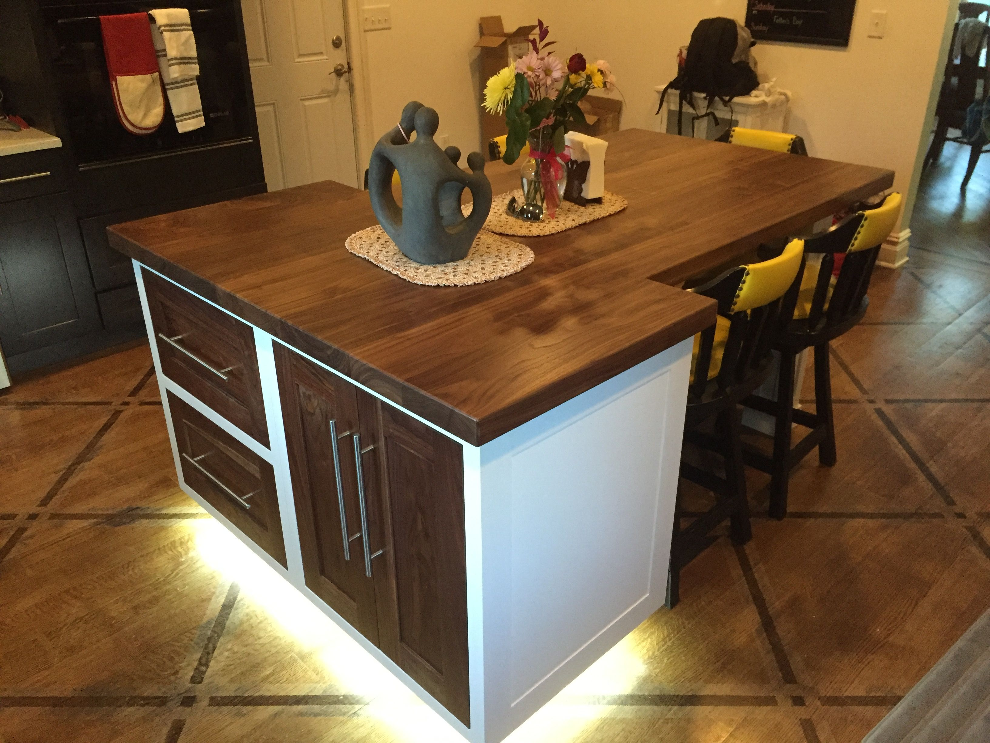 Hand Made Kitchen Island Dining Table