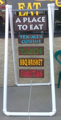 Custom Made Signs For Small Restaurant