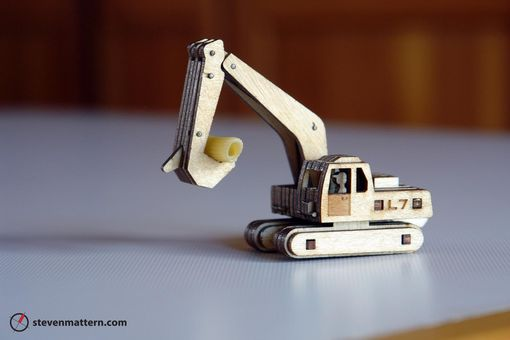 Custom Made Construction Vehicle Kits - Seven Vehicle Fleet In All