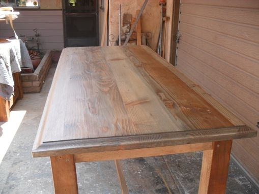 Reclaimed Wood Gathering Table Custom Made In The Usa From